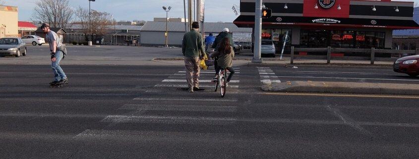 86th Street & Monon Trail crossing