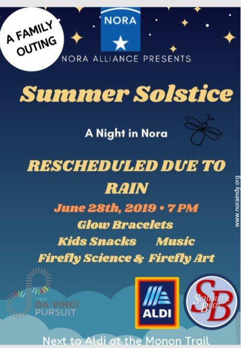 June Events, Films and Fireflies | Nora Alliance